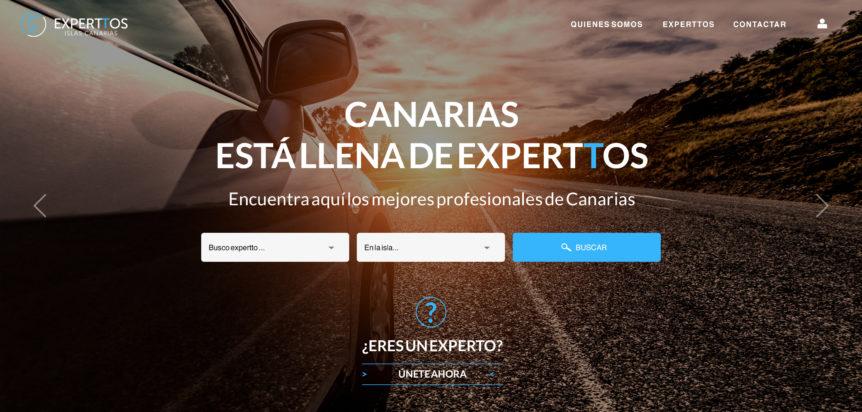 portal de búsqueda de profesionales de canarias